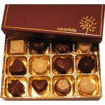 Cocoafeliz valentines day hearts and flowers organic vegan truffle collection
