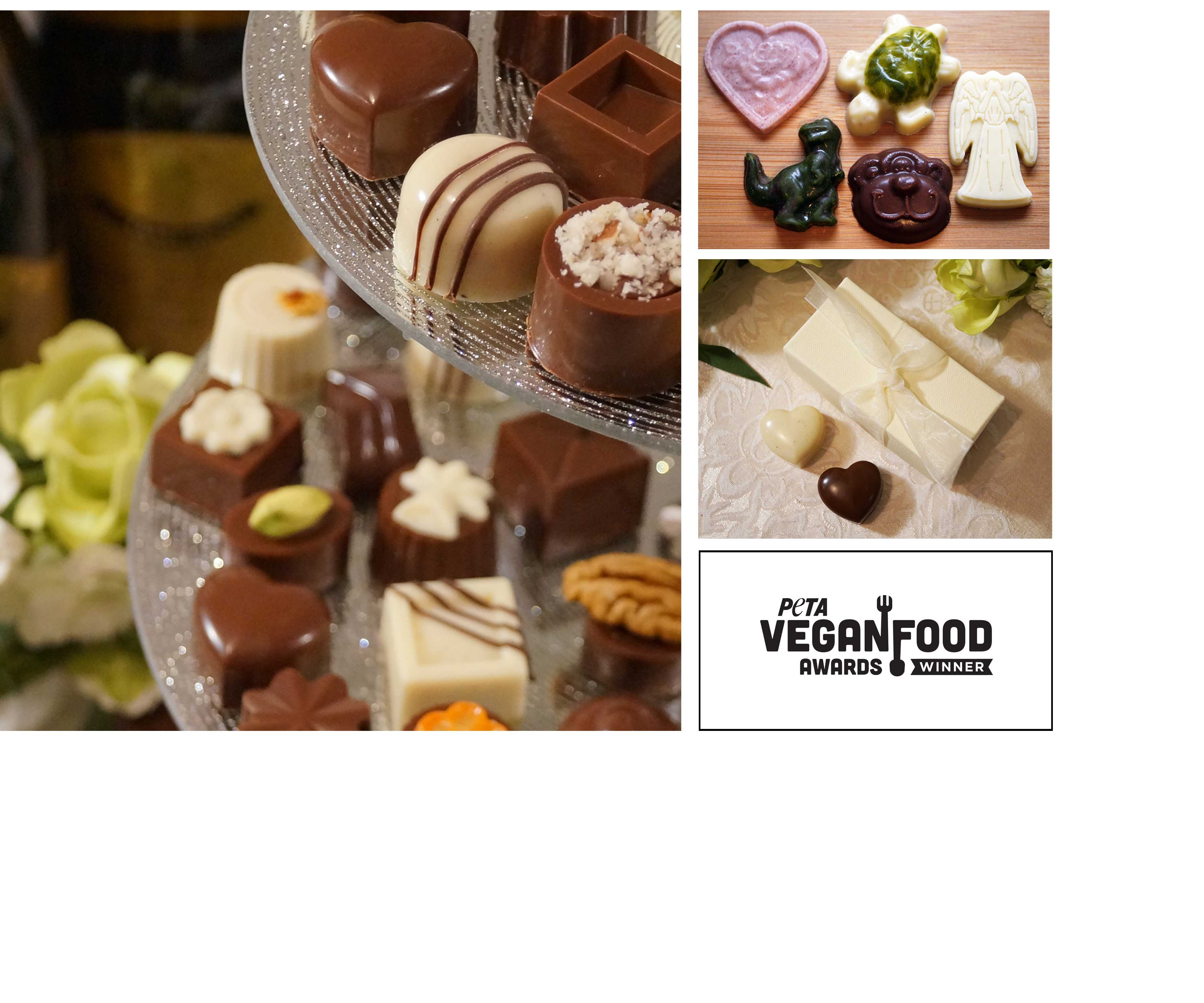 Cocoafeliz organic vegan handmade luxury chocolates