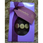 daisy Easter egg in lilac box