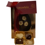 Easter Eggs with Chocolate Truffles
