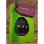 Dotty yellow Easter egg in green box