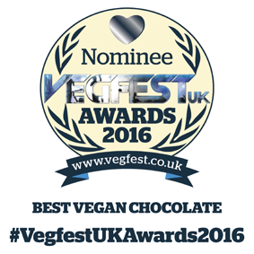 VegFestUK Awards Best Vegan Chocolate Nomination