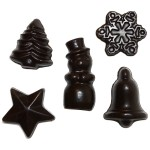 Cocoafeliz Dairy-Free Christmas Chocolate Shapes